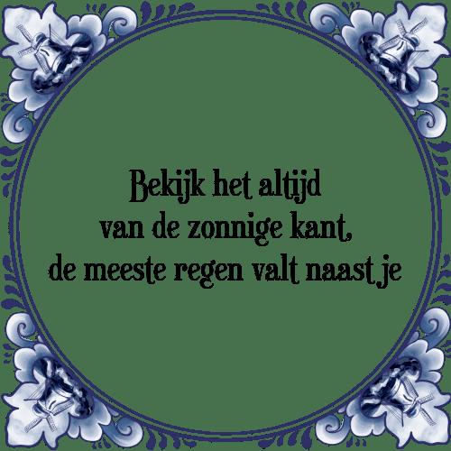 zonnige spreuken Zonnig   Tegel + Spreuk | TegelSpreuken.nl zonnige spreuken