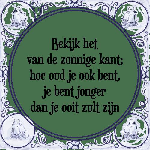 zonnige spreuken Zonnige   Tegel + Spreuk | TegelSpreuken.nl zonnige spreuken