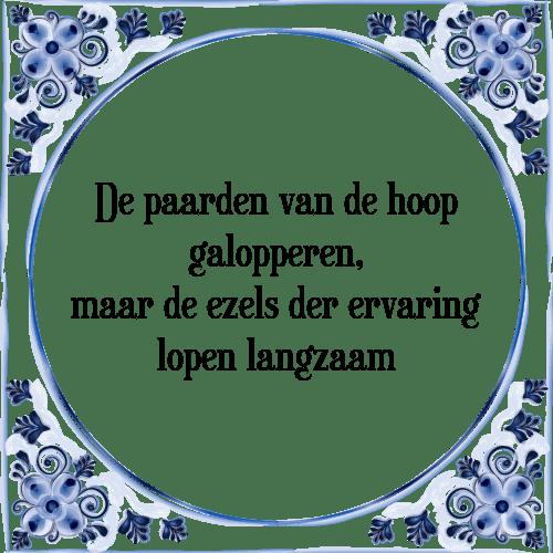 paarden spreuken Paarden hoop   Tegel + Spreuk | TegelSpreuken.nl paarden spreuken