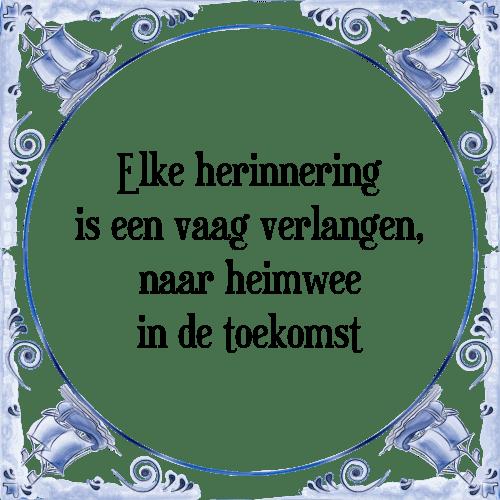 vage spreuken Herinnering vaag   Tegel + Spreuk | TegelSpreuken.nl vage spreuken