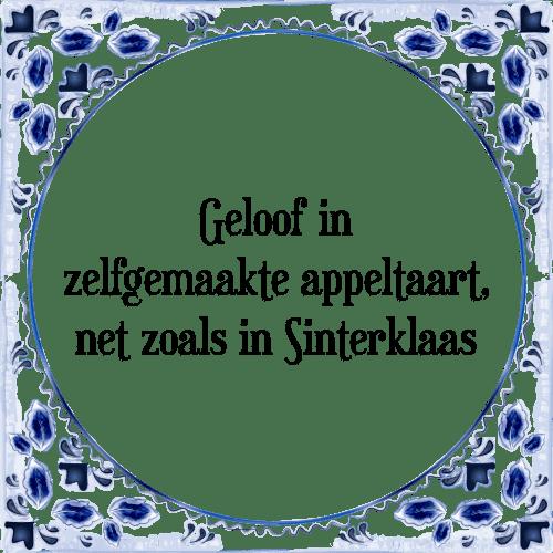 spreuken geloof Appeltaart   Tegel + Spreuk   TegelSpreuken.nl spreuken geloof