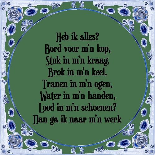 kop op spreuken Alles   Tegel + Spreuk | TegelSpreuken.nl kop op spreuken