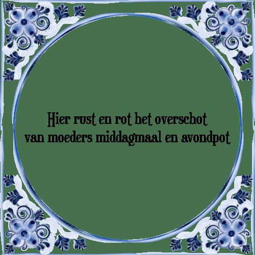 spreuken rust Hier rust   Tegel + Spreuk | TegelSpreuken.nl spreuken rust