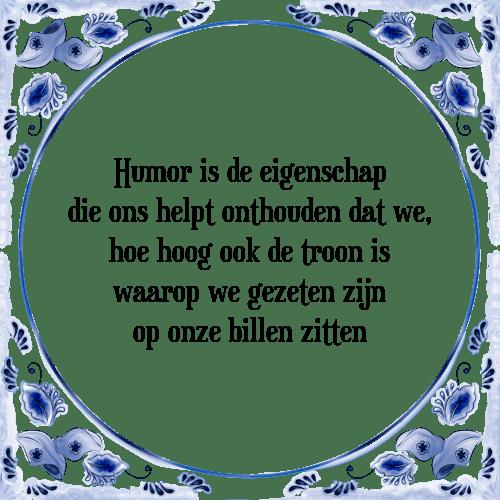 tegeltjes spreuken humor Humor eigenschap   Tegel + Spreuk | TegelSpreuken.nl tegeltjes spreuken humor