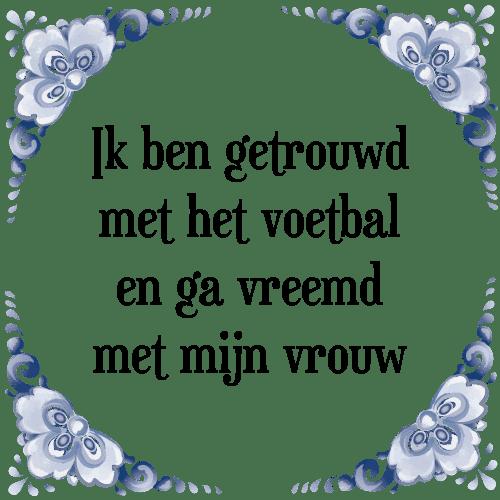 spreuken pas getrouwd Ik getrouwd   Tegel + Spreuk | TegelSpreuken.nl spreuken pas getrouwd