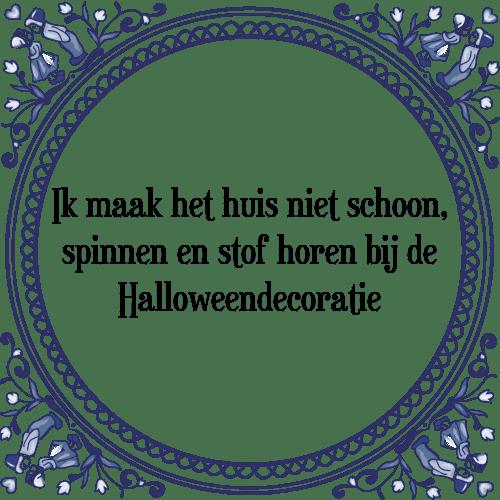 Citaten Over De Winter : Halloweendecoratie tegel spreuk tegelspreuken