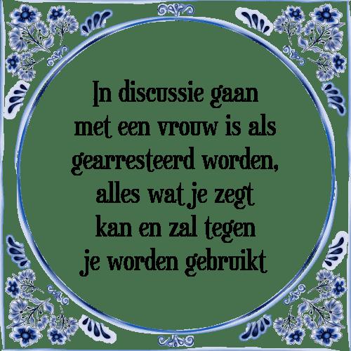 tegeltjes spreuken vrouwen Discussie vrouwen   Tegel + Spreuk | TegelSpreuken.nl tegeltjes spreuken vrouwen