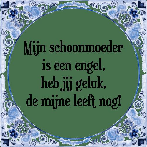 spreuken schoonmoeder Mijn schoonmoeder   Tegel + Spreuk | TegelSpreuken.nl spreuken schoonmoeder
