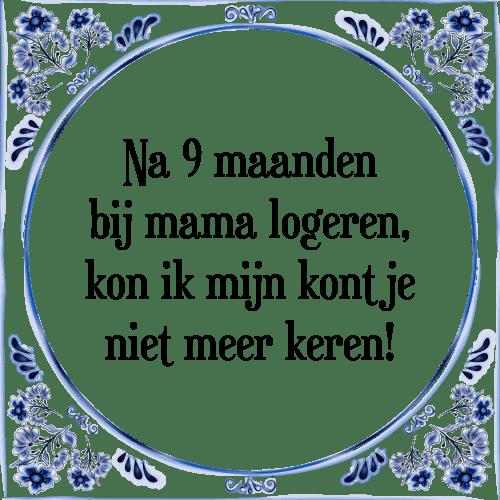 spreuken maanden 9 maanden   Tegel + Spreuk | TegelSpreuken.nl spreuken maanden