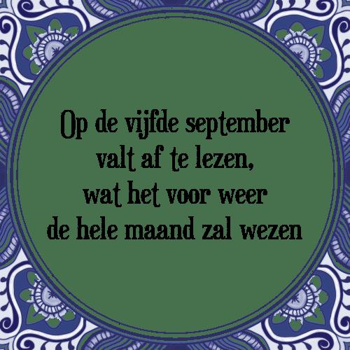 maand spreuken De vijfde   Tegel + Spreuk | TegelSpreuken.nl maand spreuken