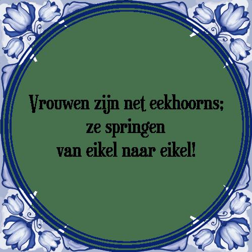 tegeltjes spreuken vrouwen Vrouwen eekhoorns   Tegel + Spreuk | TegelSpreuken.nl tegeltjes spreuken vrouwen