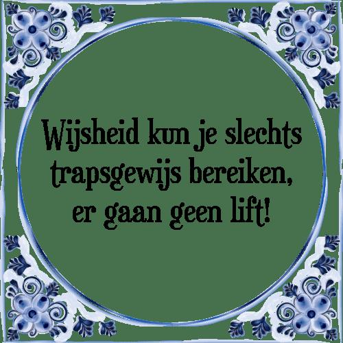 wijsheid spreuken Wijsheid kun   Tegel + Spreuk | TegelSpreuken.nl wijsheid spreuken
