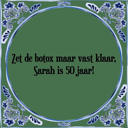 New De botox - Tegel + Spreuk | TegelSpreuken.nl &GX28